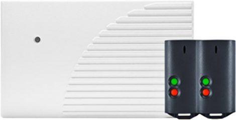 SATEL RK2K 2 csatornás, ugrókódos távvezérlő készlet, max. 1024 adó, 2 távkapcsoló
