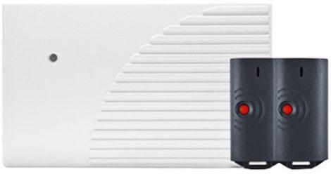 SATEL RK1K   1 csatornás, ugrókódos távvezérlő készlet, max. 1024 adó, 2 távkapcsoló.
