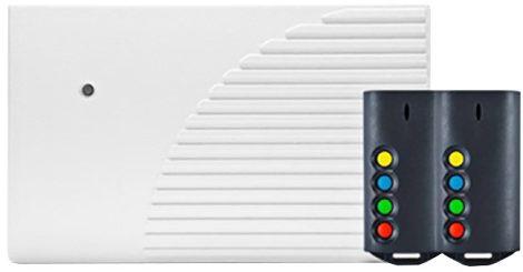 SATEL RK4K 4 csatornás, ugrókódos távvezérlő készlet