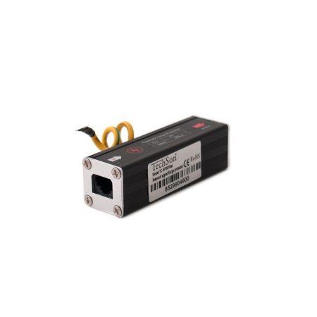 TC SP-001 NET Villám és túlfeszültség levezető videotechnikai eszközök LAN túlfeszültség védelmére