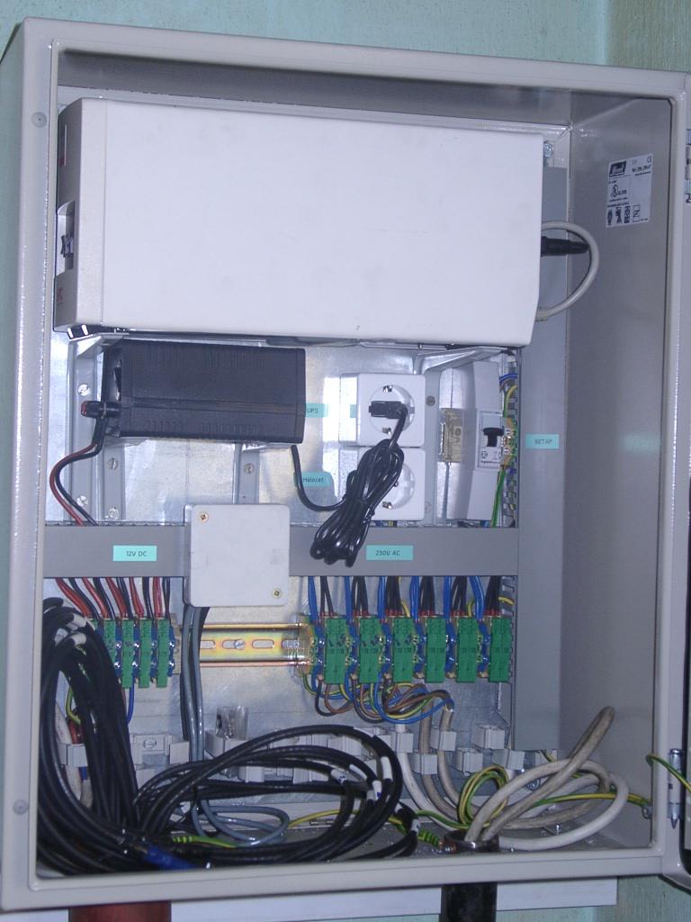 Szünetmentes tápegység kamerás rendszerhez